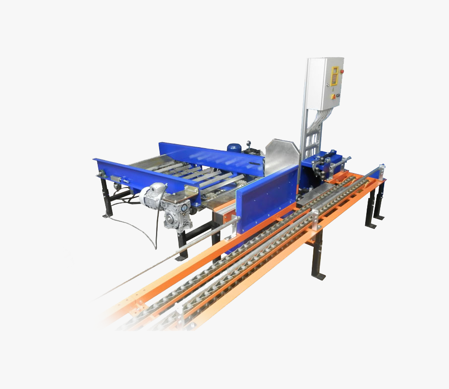 Cylinder Loading - Unloading Machine