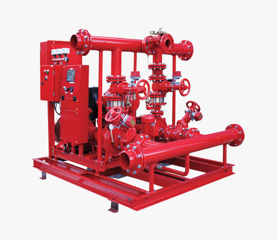 Fire Pump, Fire Extinguisher Line And Equipments