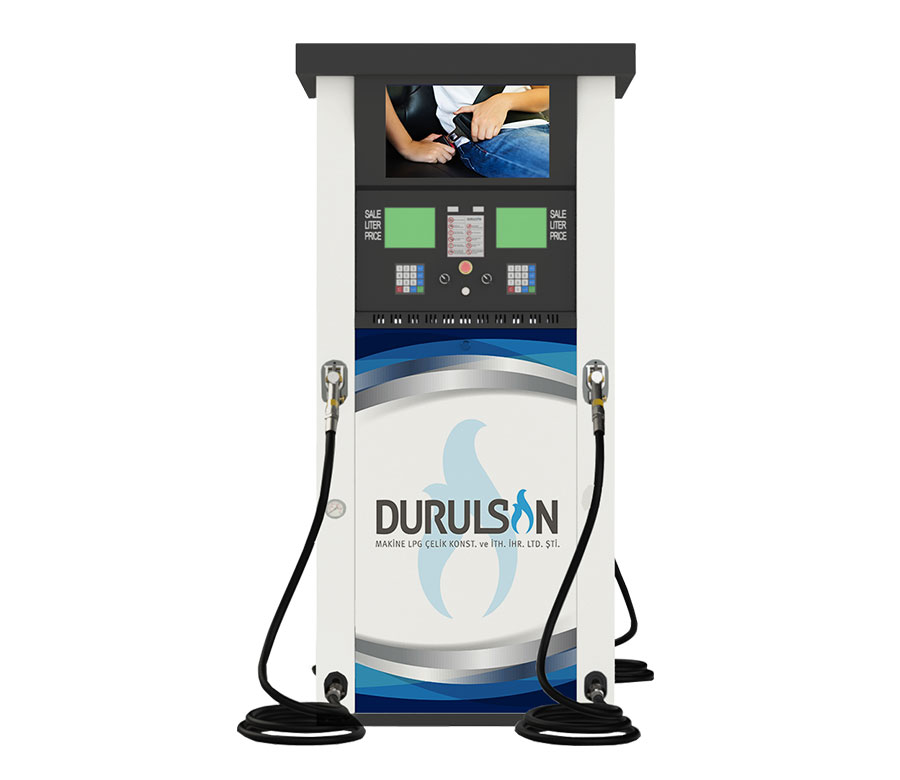 DM LPG Dispenser Type Roof/Multimedia